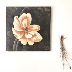 Other - Hand-painted Floral Art Canvas